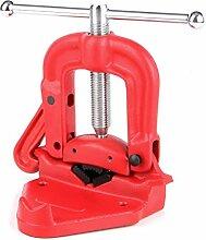 Rohrschraubstock Sanitär Schraubstock für ø 90 mm Rohre