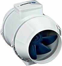 Rohrventilator D100 / 125 / 150 Blauberg Rohrlüfter Ventilator 2 Stufen Grow (125mm - max. 345 m³/h)
