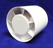 Rohrventilator Rohreinschub Ø 100 mm 10 cm Kanal Kanalventilator Abluft Lüfter Rohr Ventilator Einschublüfter Rohrlüfter aR100