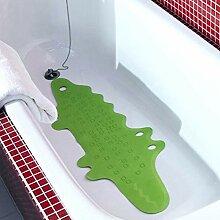 RoHuang Badematte Grün Lange Dusche Kinder