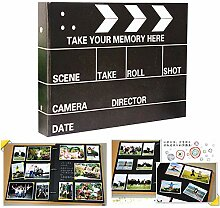 Rolansy Mini-Buchalbum, 25 Seiten, DIY Fotoalbum,