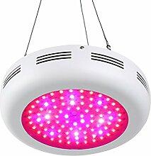 Roleadro 270W LED Pflanzenlampe, UFO LED Grow Lampe Pflanzenleuchte Wachstum Led Grow Light für Zimmerpflanzen Wachstum im Growbox / Gewächshaus / Grow Tent mit IR UV Lich