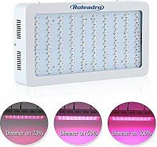 Roleadro 300W Led Pflanzenlampe Dimmbar Grow Lampe für Gewächshaus Pflanze und Blumen Wachstumlampe Zimmerpflanzen Led Grow Light mit IR UV Lich