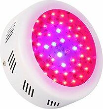 Roleadro LED Grow Lampe 138W UFO Pflanzenleuchte Wachstum Led Grow Light für Zimmerpflanzen Wachstum im Growbox/Gewächshaus/Grow Tent mit IR UV Lich