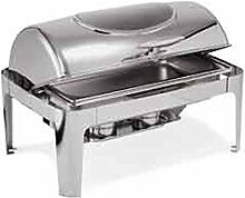 Roll Top Chafing Dish GN 1/1 mit Sichtfenster
