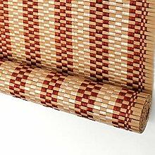 Roll Up Fenster Vorhänge, Bambus Rollos, mit