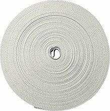 Rolladen-Gurtband Rollen beige-grau, 5 m