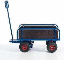 Rollcart S14-1282 2-Achs Handkarre mit Bordwand,