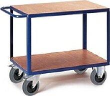 Rollcart Tischwagen blau 100,0 x 70,0 cm bis 600,0