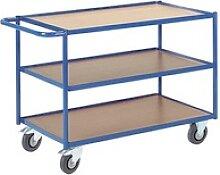 Rollcart Tischwagen blau 99,0 x 59,0 cm bis 300,0