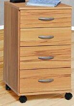 Rollcontainer bv-vertrieb Kernbuche Bürocontainer