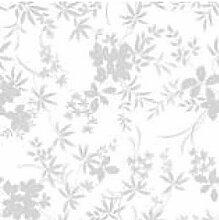 Rolle Tischdecke Transparent Floralie