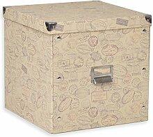 ROLLER Aufbewahrungsbox - Stamps - Pappe - Größe