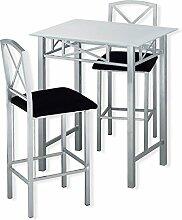 ROLLER Bar-Set FERGIE - silber-schwarz