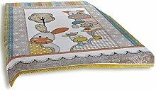 ROLLER Frisee-Teppich Diamond Kids - Mehrfarbig -