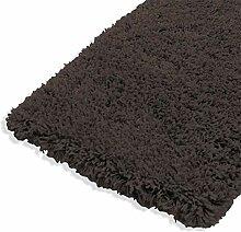 ROLLER Hochflor-Teppich Shaggy Plus - grau -