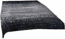 ROLLER Hochflor-Teppich SPACELIGHT - schwarz-weiß
