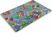 ROLLER Kinder-Spielteppich - Autobahn - 140x200 cm