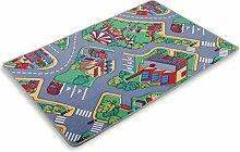 ROLLER Kinder-Spielteppich - Autobahn - 200x300 cm