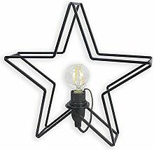 ROLLER LAMPURA Tischleuchte Stern - schwarz