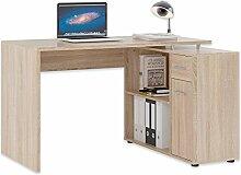 ROLLER Schreibtisch Stefan - Sonoma Eiche - 120 cm
