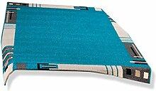 ROLLER Teppich - türkis - 160x230 cm