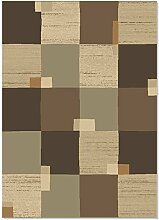 ROLLER Teppich Vera - braun - 200x290 cm