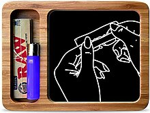 Rolling Hands Rolling Tray Smoking Gift Set by