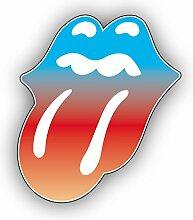 Rolling Stones Gradient Tongue Music -