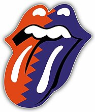 Rolling Stones Music Tongue - Self-Adhesive
