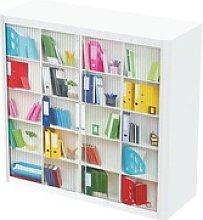 Rollladenschrank Motiv Büroregal, easyOffice,