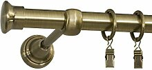 ROLLMAXXX Gardinenstange Vorhangstange 19mm