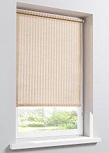 Rollo Bambus-Optik, beige ((H/B) 150/50 cm)