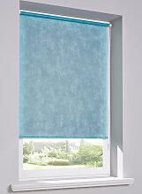 Rollo  Sichtschutz Vlies, blau ((H/B) 150/70 cm)