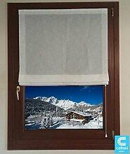 Rollos verpackt für Fenster–verpackt auf Maßnahme–cm 45x 135