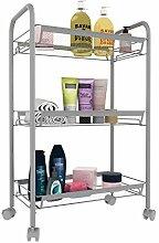 Rollregal Standregal für Küche, Badezimmer und