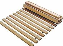 Rollrost 140x200 11 Leisten nicht verstellbar unverstellbar Fichtenholz Rolllattenros