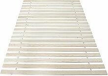 Rollrost Lattenrost Rolllattenrost 20 Stabile Leisten 80x220 90x220 100x220 120x220 140x220 160x220, Betten-Abmessung:90 x 220