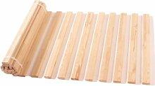 Rollrost starr Kieferholzleisten, Größe:180 x 200 cm