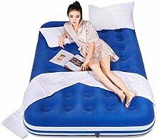 Rollsnownow 203 * 152CM Dicker im Freien bewegliches Matratze aufblasbares Bett Luftkissenbett nach Hause aufblasbare Matratzen