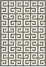 Rollsnownow Einfache und edle Teppich Matte Matte Matratze Couchtisch Teppich braun anderes Material rechteckig 120 * 90 cm tragen Anti-Rutsch-Bett Pedal Pad 1,7 cm dick abstrakte Stil zu Hause