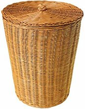 Rollsnownow Gelb Rattan Dirty Clothes Korb Pastoral Einfach Schmutzig Korb Home Storage Barrels Trümmer Rattan Korb Natürliche Pflanze Rebe Pure Hand Weaving Aufbewahrungskorb ( größe : 20*30cm )