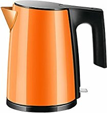 Rollsnownow Haushalt Edelstahl-Wasserkocher Reise Exklusiv Portable Kleine Kapazität Student Dormitory Orange 1.2L Nach der Fertigstellung der automatischen Heizung