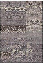 Rollsnownow Moderne einfache abstrakte Teppich Matte Matte Tür Matte Couchtisch hellgrau Acryl Material geschnitzt Muster rechteckig 170 * 120 cm hohe Qualität High-Density Bett Pedal 1 cm dick Wohnzimmer Zubehör Sofa großen Teppich