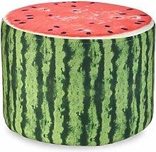 Rollsnownow Obst Hocker Haushalt Kreative Sofa Hocker Runde Sitzen Pier Kinder Hocker Leinen Hocker Sets (28 * 28 * 20 cm) ( Farbe : S )
