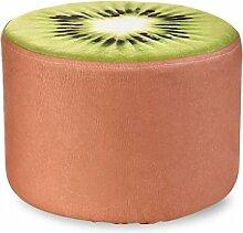 Rollsnownow Obst Hocker Haushalt Kreative Sofa Hocker Runde Sitzen Pier Kinder Hocker Leinen Hocker Sets (28 * 28 * 20 cm) ( Farbe : Q )