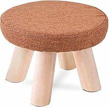 Rollsnownow Obst Hocker Kleine Bank Massivholz Mode Sofa Hocker Couchtisch Hocker Niedrigen Hocker (28 * 28 * 20 cm) ( Farbe : S )