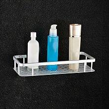 Rollsnownow Raum-Aluminium-Badezimmer-Regal-Badezimmer-Raum-Einzelregal-Badezimmer 1 Schicht Wandbehang