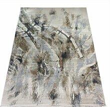 Rollsnownow Retro, um die alten Teppichmatten in die Türmatten zu tragen Kaffeetisch Teppich gemischtes Material rechteckig 160 * 80 cm High-End Qualität geometrisches Muster leicht zu reinigen Bettpedal 1 cm dickes Wohnzimmer Zubehör klassischen Stil