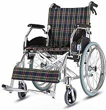 Rollstuhl - faltende Aluminiumlegierung ältere